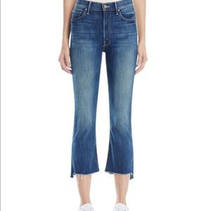 MOTHER Insider Crop Step Fray Jean | 24